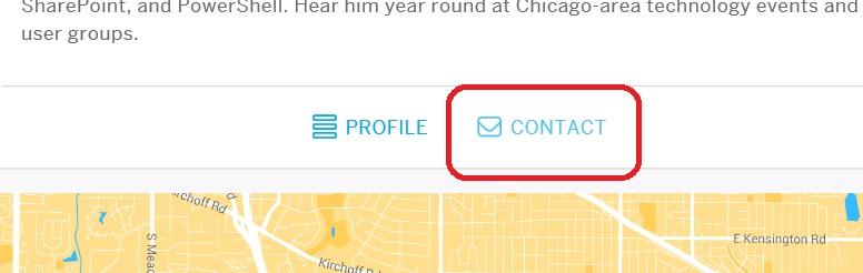 Contact Button